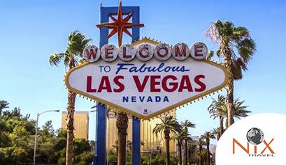 Viagem para Las Vegas - Nix Travel