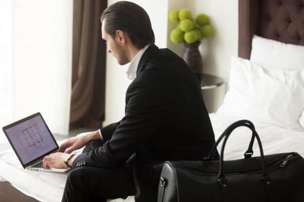 Gestão de viagens para executivos
